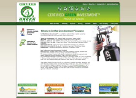 certifiedgreeninvestment.com