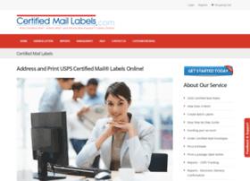 certifiedmaillabels.com