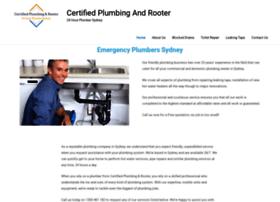 certifiedplumbingandrooter.com