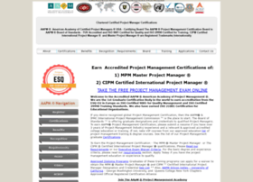 certifiedprojectmanager.org