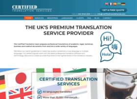 certifiedtranslationcompany.co.uk