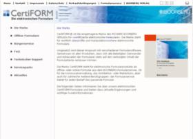 certiform.de