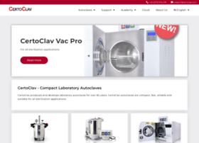 certoclav.com