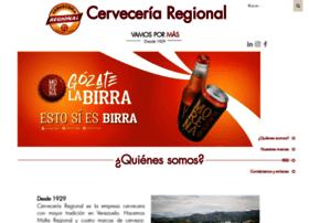 cerveceriaregional.com