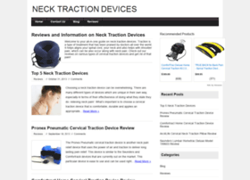 cervicaltractiondevice.org