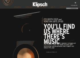 ces.klipsch.com