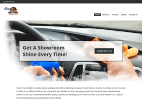 cesarsautodetailing.com