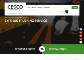 cesco-logistics.com