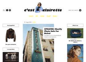 cestclairette.com