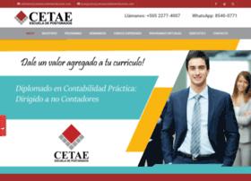 cetaenicaragua.com