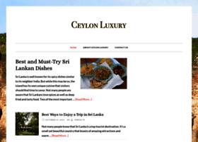 ceylonluxury.com