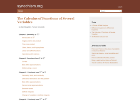 cfsv.synechism.org
