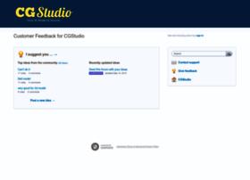 cgstudio.uservoice.com