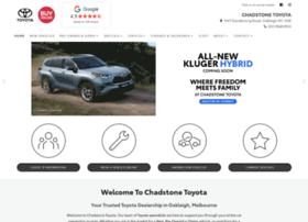 chadstonetoyota.com.au