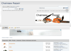 chainsawrepair.createaforum.com