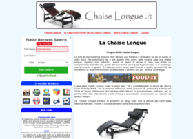 chaiselongue.it