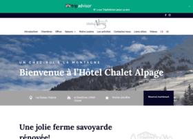 chalet-alpage.com