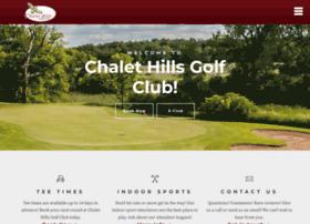 chalethillsgolfclub.com