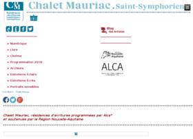 chaletmauriac.aquitaine.fr