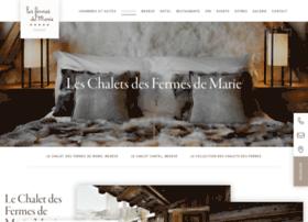 chalets.fermesdemarie.com
