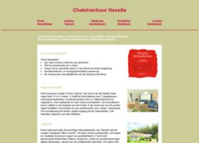 chaletverhuurhavelte.nl