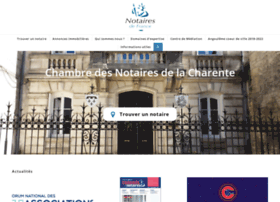 chambre-charente.notaires.fr