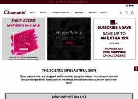 chamonixskincare.com