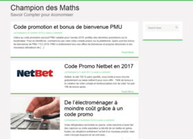 champion-des-maths.fr