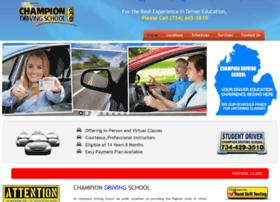 championdrivingschool.us