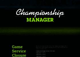 championshipmanager.co.uk