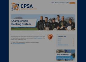 championships.cpsa.co.uk