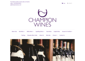 championwines.co.uk