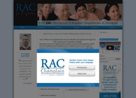 champlainrac.com