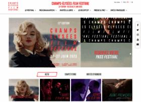 champselyseesfilmfestival.com