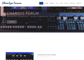 chamsys-forum.de