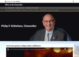 chancellor.colorado.edu