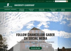 chancellor.uncc.edu