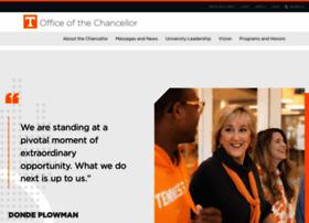 chancellor.utk.edu