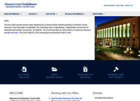 chanceryclerkandmaster.nashville.gov