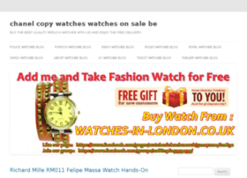 chanel-copy-watches.watchesonsale.be