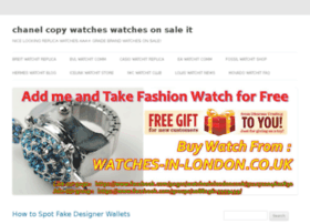 chanel-copy-watches.watchesonsale.it