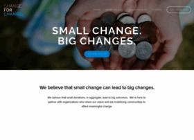 changeforchange.org