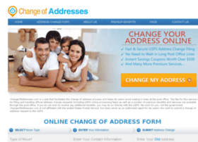 changeofaddresses.com