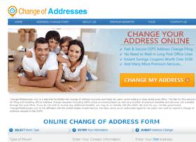 changeofaddresses.com