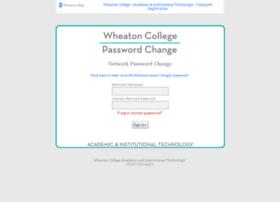 changepass.wheaton.edu