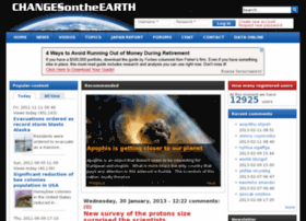 changesontheearth.com