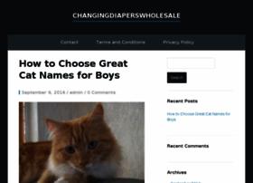 changingdiaperswholesale.com