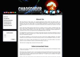 chaoscoder.com