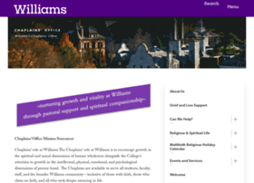 chaplain.williams.edu