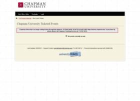 chapman.universitytickets.com